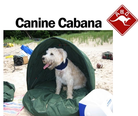 Canine Cabana dog beach c&ing equipment  sc 1 st  Woof Woof Mama & ABO Gear Canine Cabana for Beach and Camping - Only $17! | Woof ...