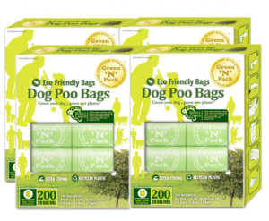 eco=friendly dog poop bags