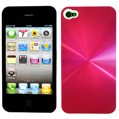 pink metal  iPhone cover on sale