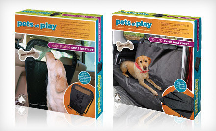 pets at play adjustable car seat covers