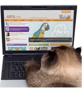 ASPCA Website and Resources for Kids