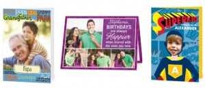 birthday cards that can be customized with your own photos and text, birthday cards, thank you cards, free greeting card offer