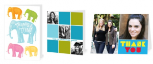 promo code for buy one get one free thank you cards from Treat