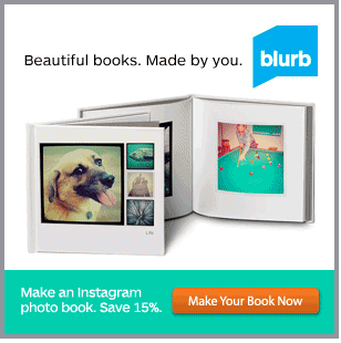 Blurb Photo Book, Promo Code Blurb