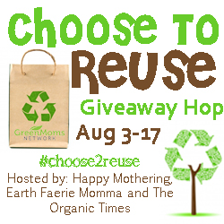 Choose to Reuse Eco-friendly Giveaway