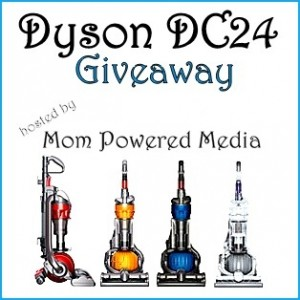 Dyson DC24 Giveaway