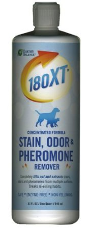 stain remover, pet odor remover, pheromone remover, 180xt, earth's balance