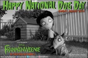 Frankenweenie National Dog Day
