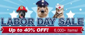 pet deals, labor day sale, dogs, pets