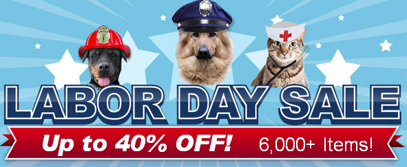 pet deals, labor day sale, dogs, pets