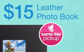 Leather, Photo Book, Walgreens Promo Code, photo deals