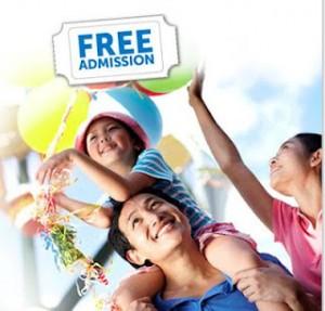 Scott Free Family Admission Pass