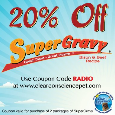 SuperGravy Promo Code, clear conscience pet