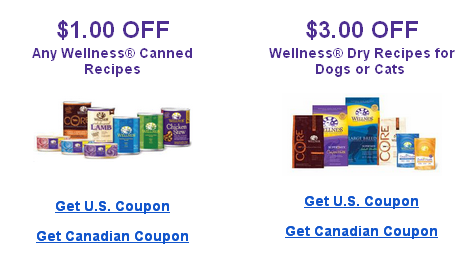 Wellness Printable Pet Food Coupons