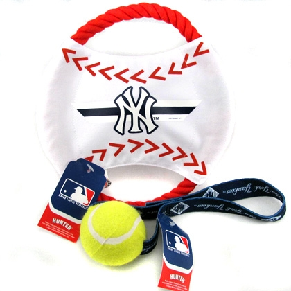 NY Yankees, pet toys, mlb, baseball toys for dogs