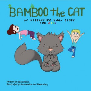 Bamboo the Cat Yoga Book for Kids
