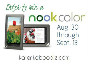nook color giveaway