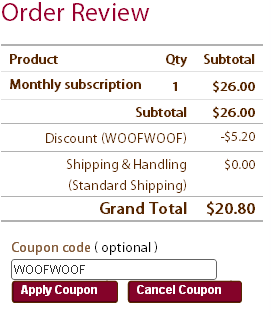woofwoof coupon code for Pawalla Box