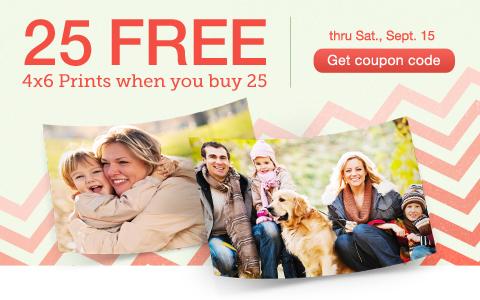 25 FREE Prints Walgreens Promo Code