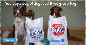 BOGO Bowl Dog Food