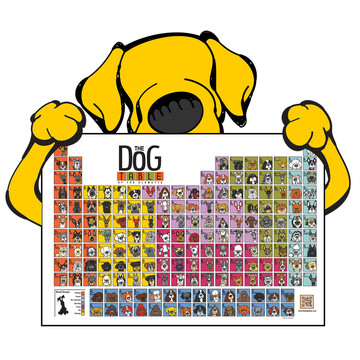Dog Table of Periodic EleMUTTS