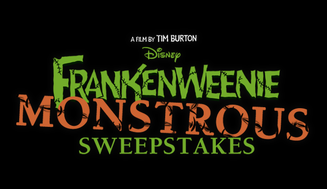 Frankenweenie monstrous sweeps