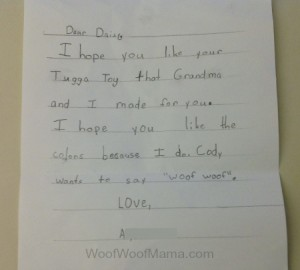 Letter to Daisy