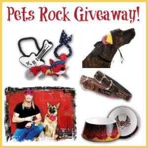 pets rock, dog toys, dog collars, bret michaels, petsmart, pets