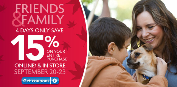Petsmart friends and family sale
