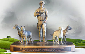 National Monument to Military Working Dogs