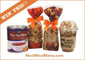 Three Dog Bakery Fall Giveaway