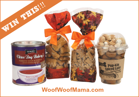 Three Dog Bakery Fall Giveaway