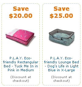 amazon pet coupons, play dog beds, dogs, beds, pet coupons