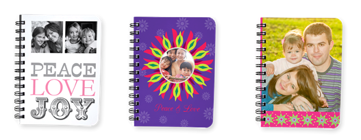 cute notebooks, spiral notebooks, stocking stuffers