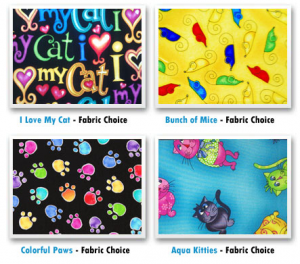 fabric patterns for cat toys