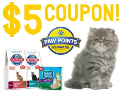 fresh step coupon, cat litter coupon, pet coupon, kitty litter coupon