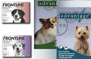 frontline, advantage, flea treatment, dogs, pet deals