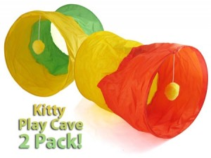 kitty play caves, cat toy, cat tunnel, pet deals