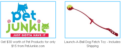 pet junkie and launch a ball dog toy