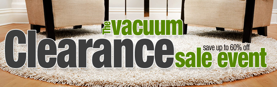 vacuum cleaner sale event