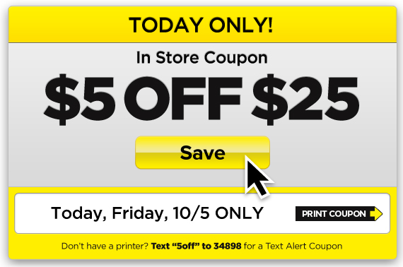 printable dollar general coupon for $5 OFF today only