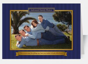 Awkward Family card