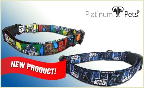 Darth Vader Star Wars Dog Collars