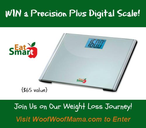 EatSmart Digital Scale Giveaway