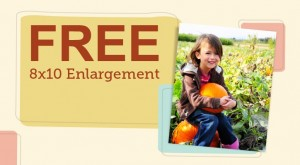 Free 8X10 Photo Walgreens promo code