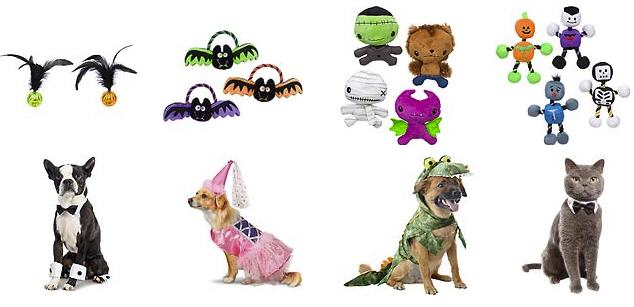 Petco Halloween costumes for dogs and cats
