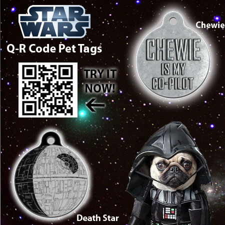 Star Wars QR Dog Tag