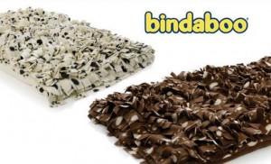 bindaboo bindy dog beds in brown and cream