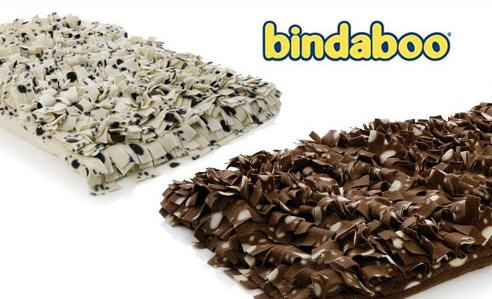 bindaboo bindy dog beds in brown and cream
