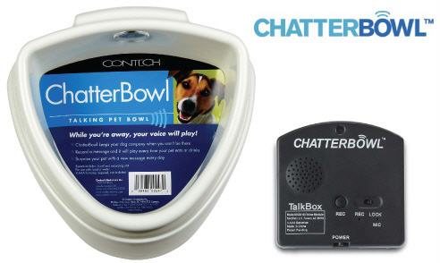 chatterbowl talking dog bowl